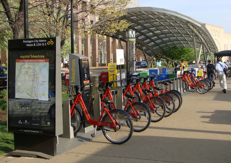 Washington, DC Capital BikeShare station