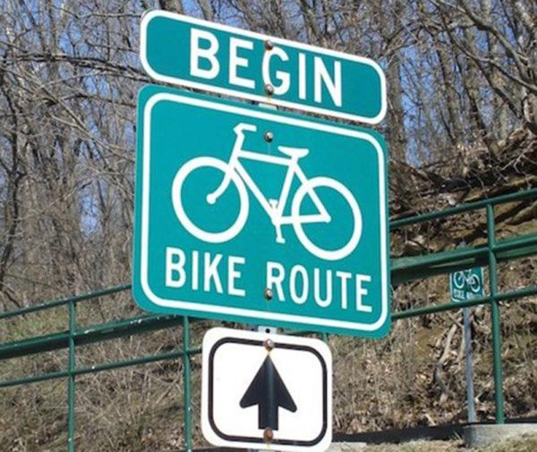 Begin Bike Route