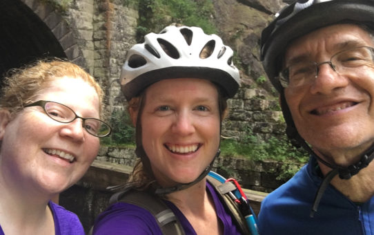 Bike touring along the C&O Canal 2016 - Paw Paw Tunnel